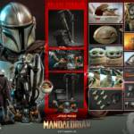 Hot Toys Mandalorian and The Child Quarter Scale Set DX 021