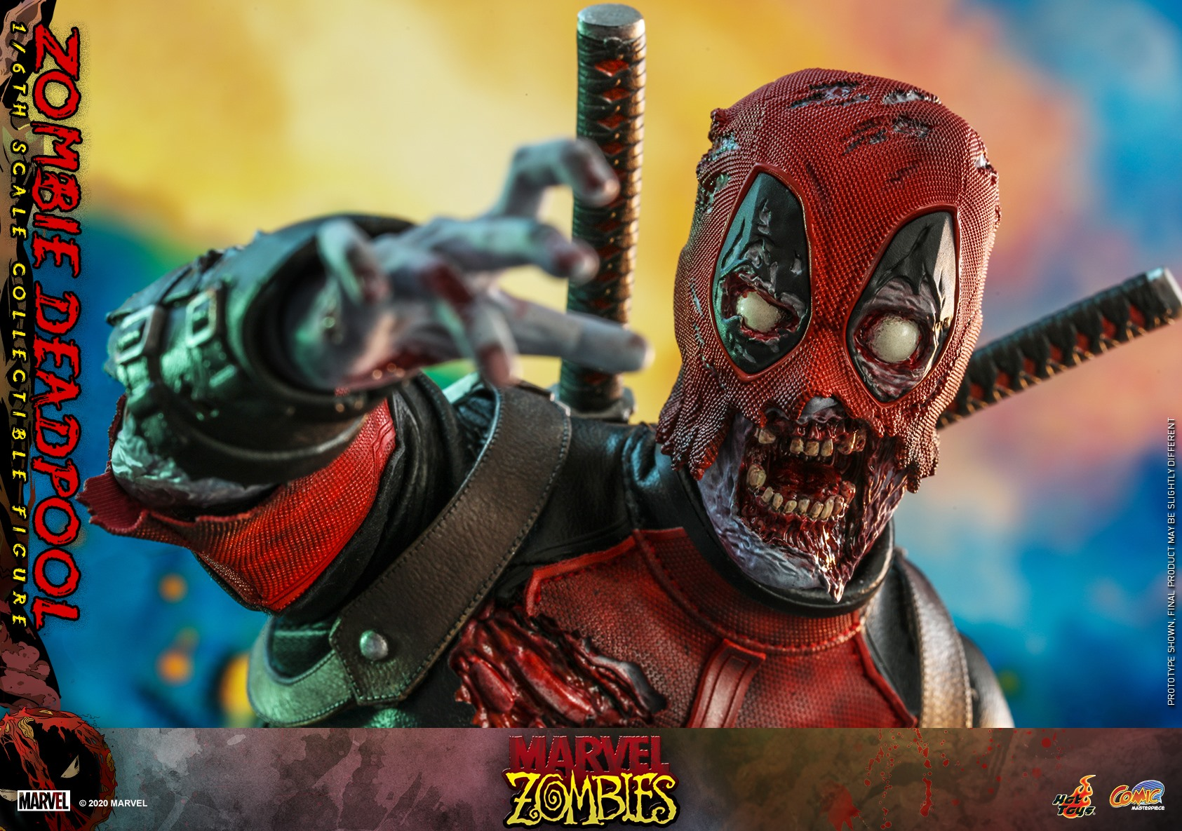 Hot Toys Zombie Deadpool 016