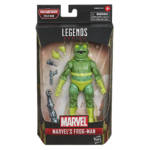 MARVEL LEGENDS SERIES SPIDER MAN 6 INCH MARVEL'S FROG MAN Figure in pck