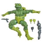 MARVEL LEGENDS SERIES SPIDER MAN 6 INCH MARVEL'S FROG MAN Figure oop