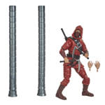 MARVEL LEGENDS SERIES SPIDER MAN 6 INCH THE HAND NINJA Figure oop