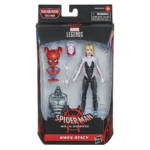MARVEL LEGENDS SERIES SPIDER MAN INTO THE SPIDER VERSE 6 INCH GWEN STACY SPIDER HAM Figure 2 Pack in pck