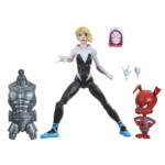 MARVEL LEGENDS SERIES SPIDER MAN INTO THE SPIDER VERSE 6 INCH GWEN STACY SPIDER HAM Figure 2 Pack oop