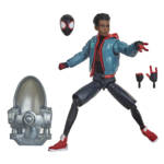 MARVEL LEGENDS SERIES SPIDER MAN INTO THE SPIDER VERSE 6 INCH MILES MORALES Figure oop