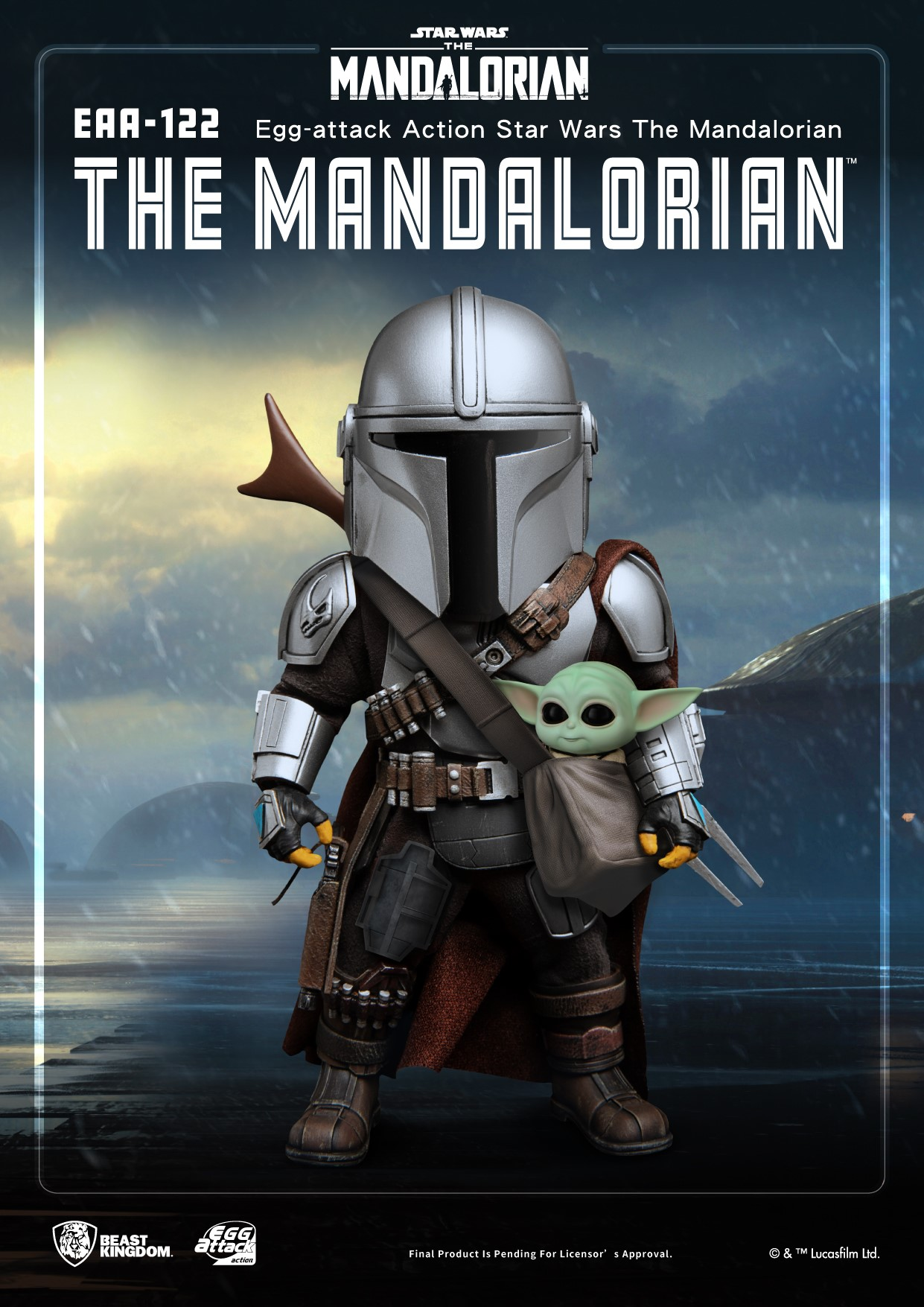 Mandalorian and Child Egg Attack 001