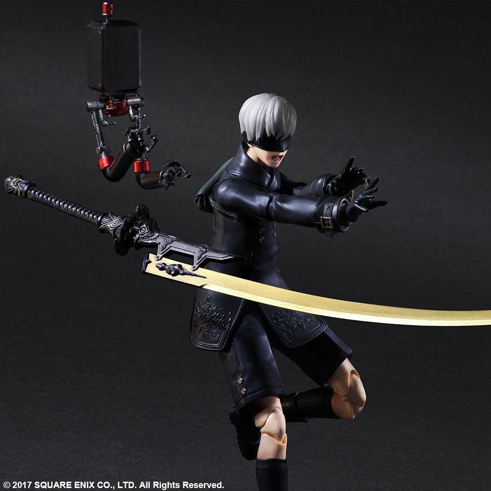 NieR Automata Play Arts Kai 9S DX 003