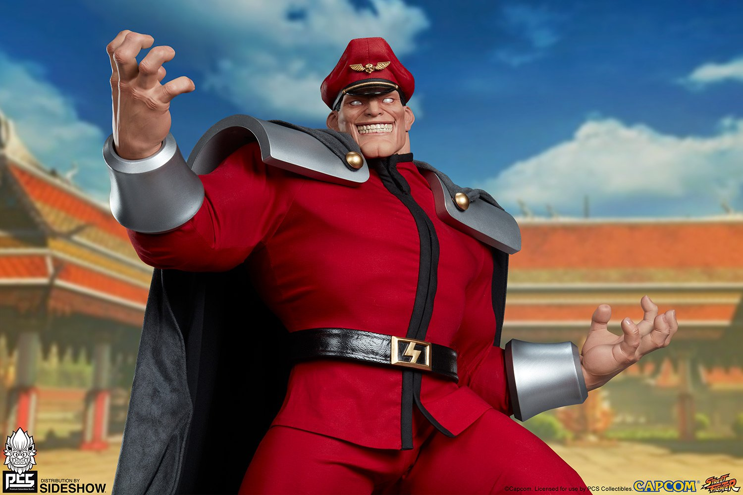 PCS Street Fighter Alpha M. Bison Statue 001
