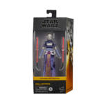 STAR WARS THE BLACK SERIES 6 INCH ASAJJ VENTRESS Figure in pck white bckgrnd