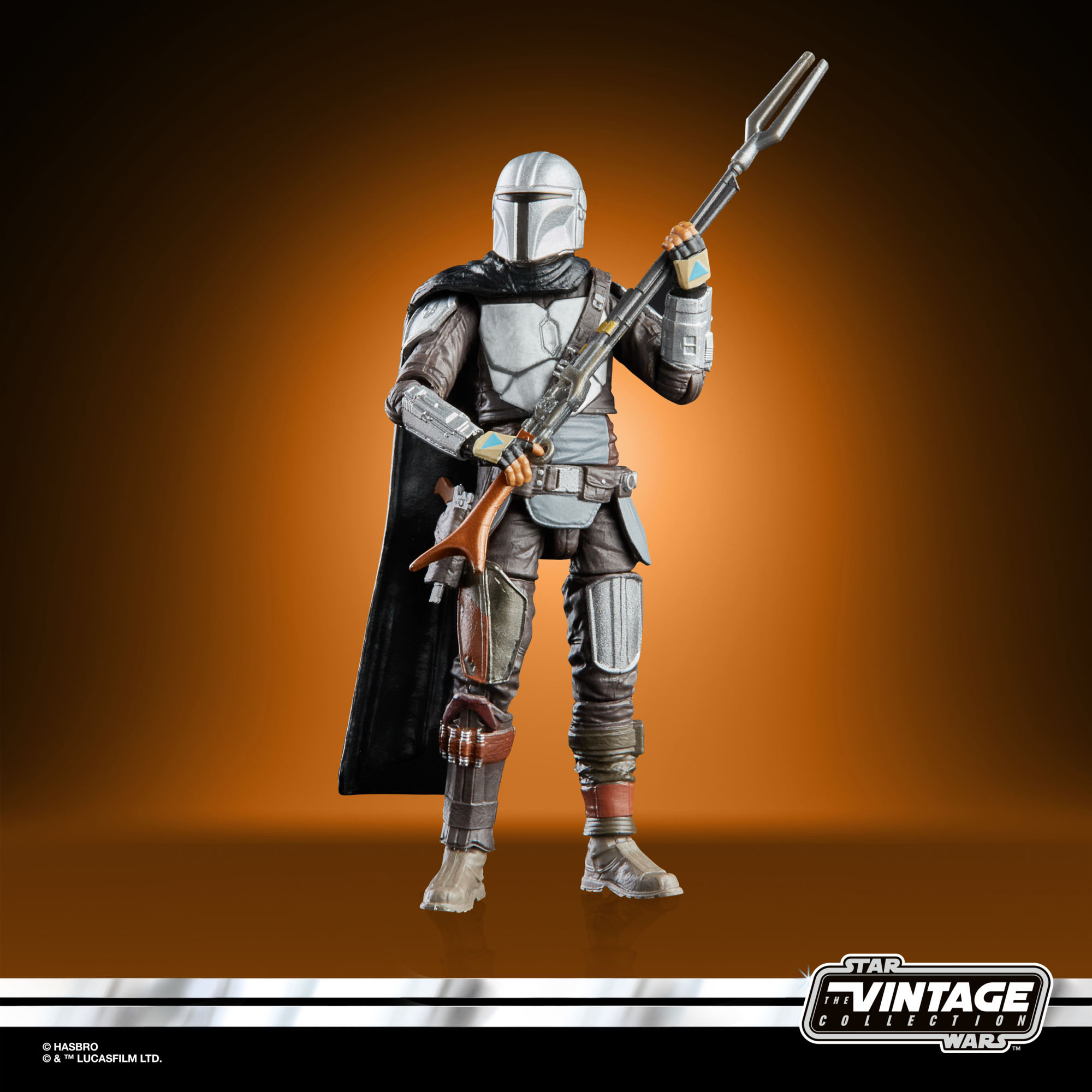 STAR WARS THE VINTAGE COLLECTION 3.75 INCH THE MANDALORIAN oop 2