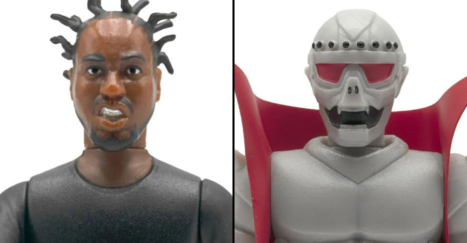 z ODB and Czarface ReAction Figures