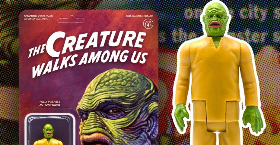 Creature Walks Among Us ReAction Figure 3