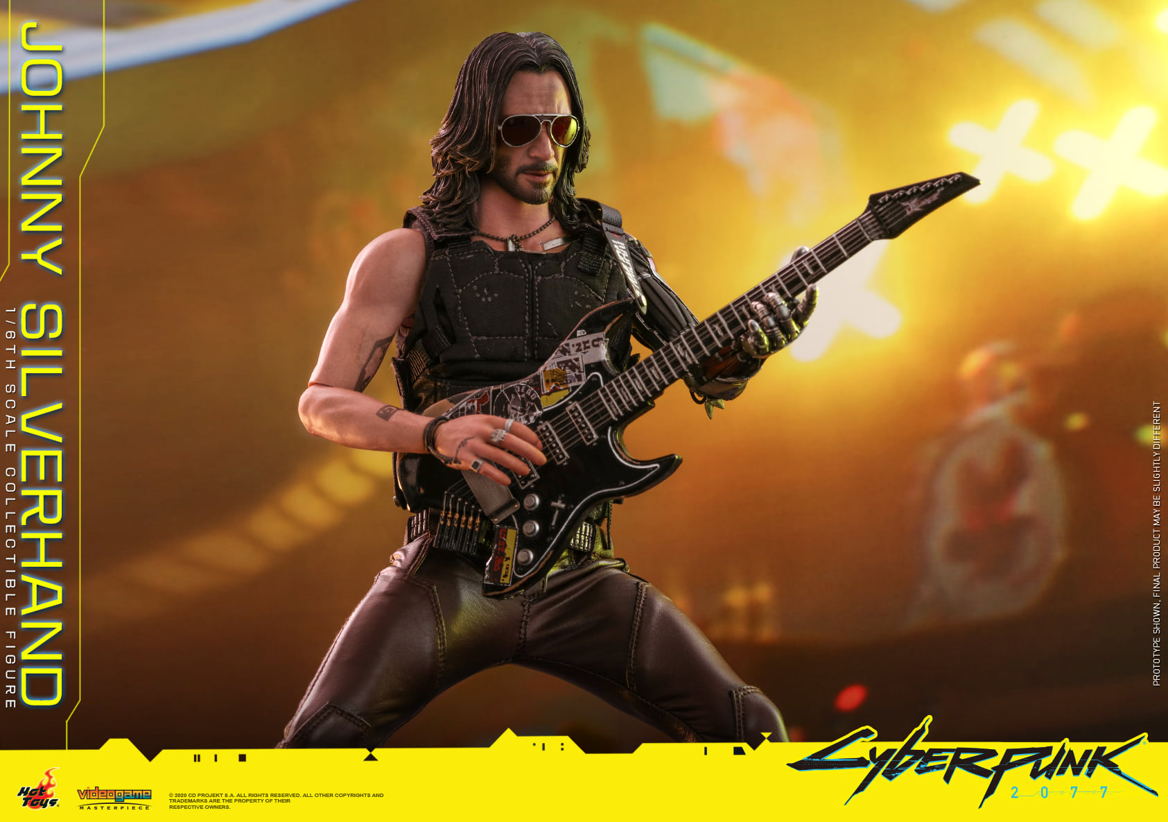 Hot Toys Johnny Silverhand 001