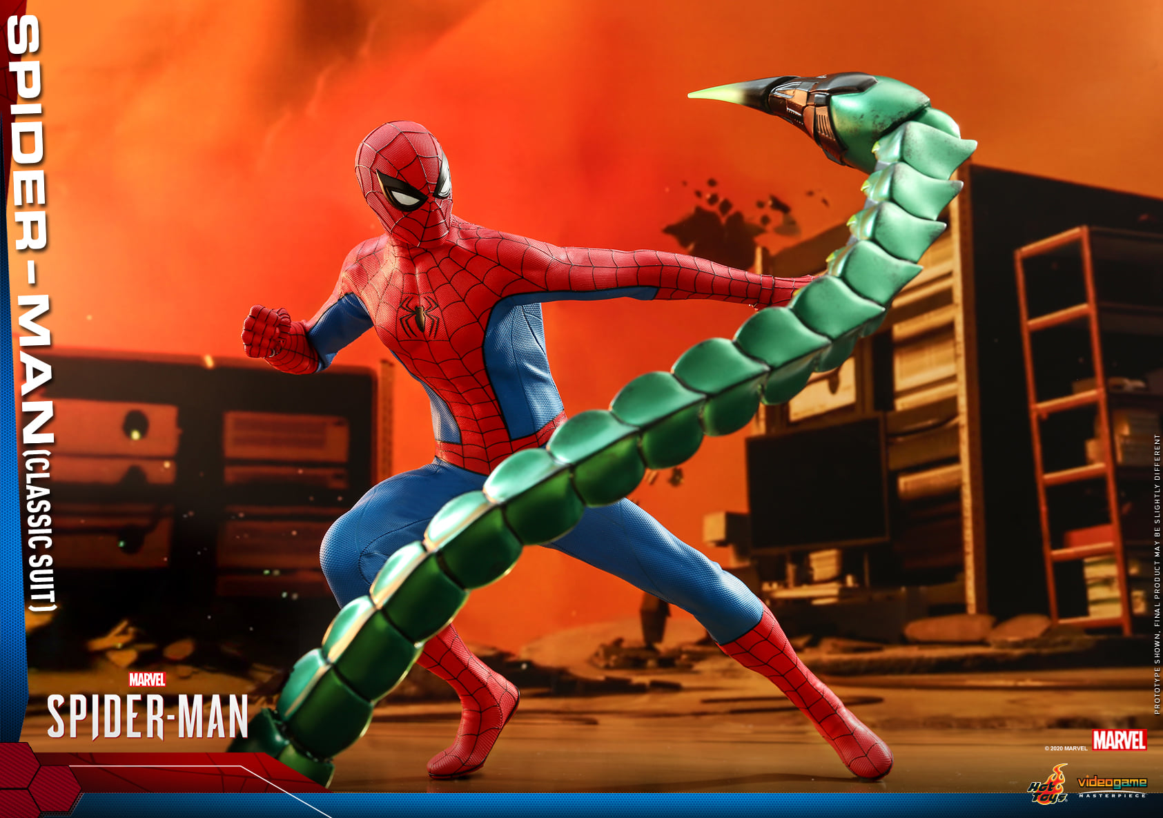 Hot Toys PS4 Classic Spider Man 016