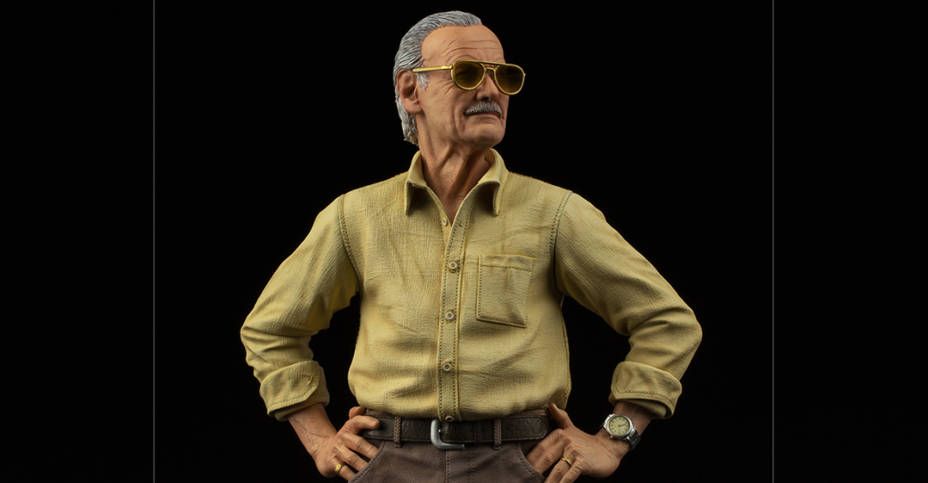 Iron Studios Stan Lee Legacy Replica 012