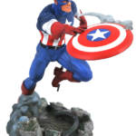 MARVEL GALLERY VS CAPTAIN AMERICA PVC STATUE 1
