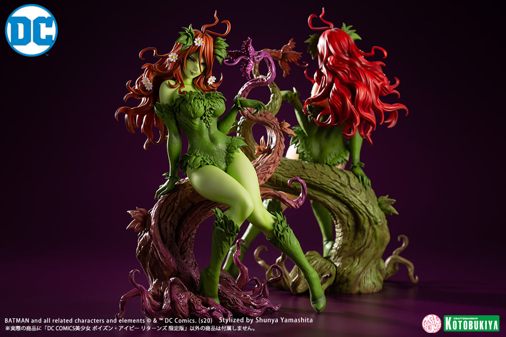 Poison Ivy Returns Statue 005