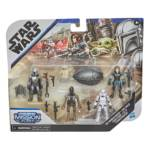 STAR WARS MISSION FLEET DEFEND THE CHILD Figure and Vehicle Pack in pck