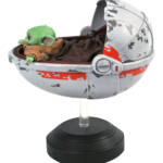 STAR WARS THE MANDALORIAN CHILD WITH PRAM STATUE 3