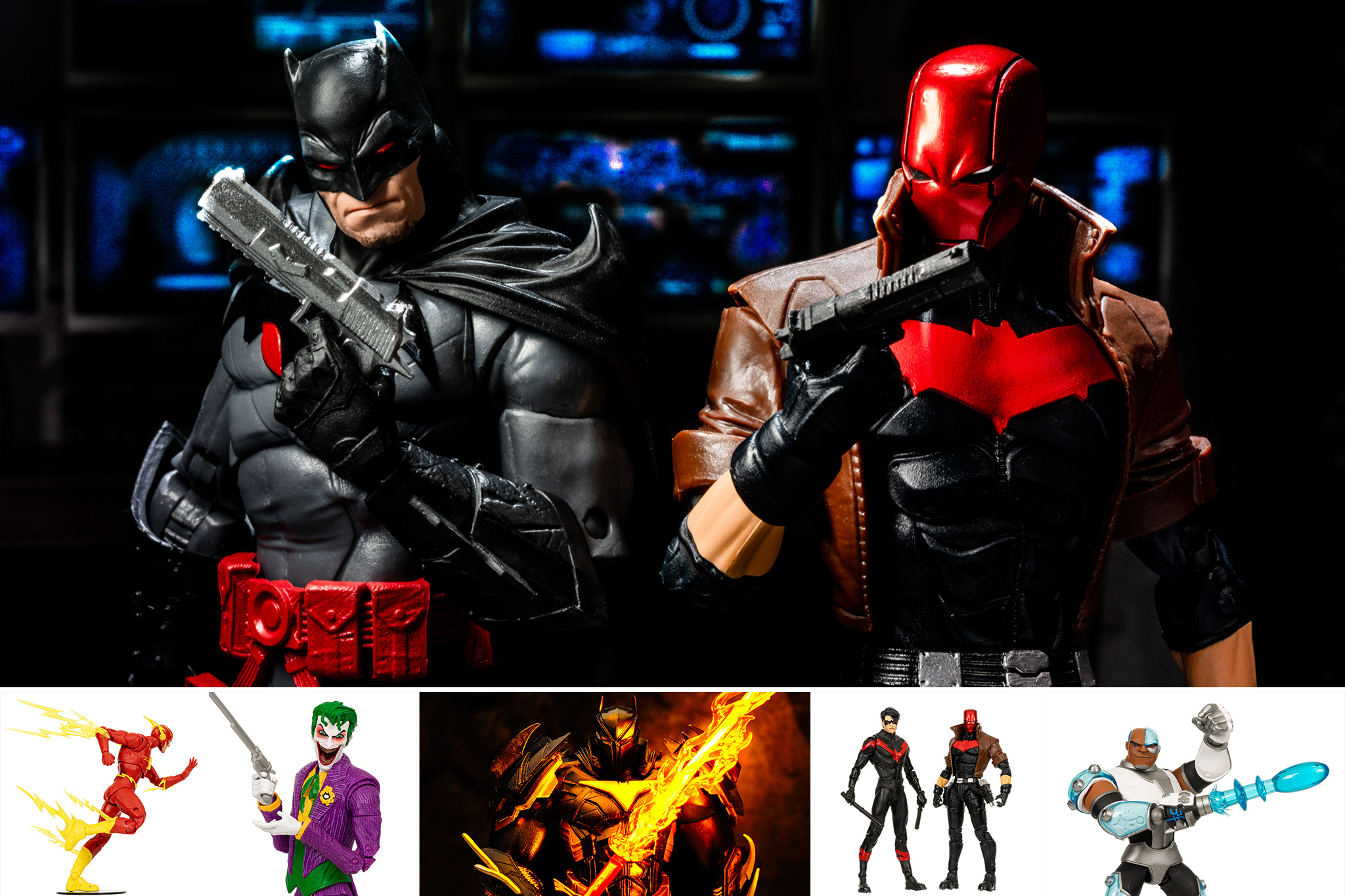 z DC Multiverse Comic Figures 01