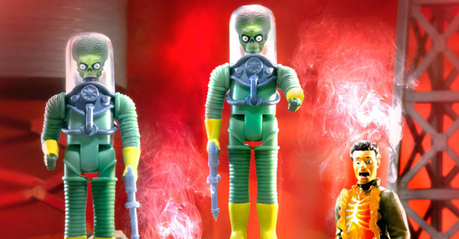 z Mars Attacks ReAction Figures