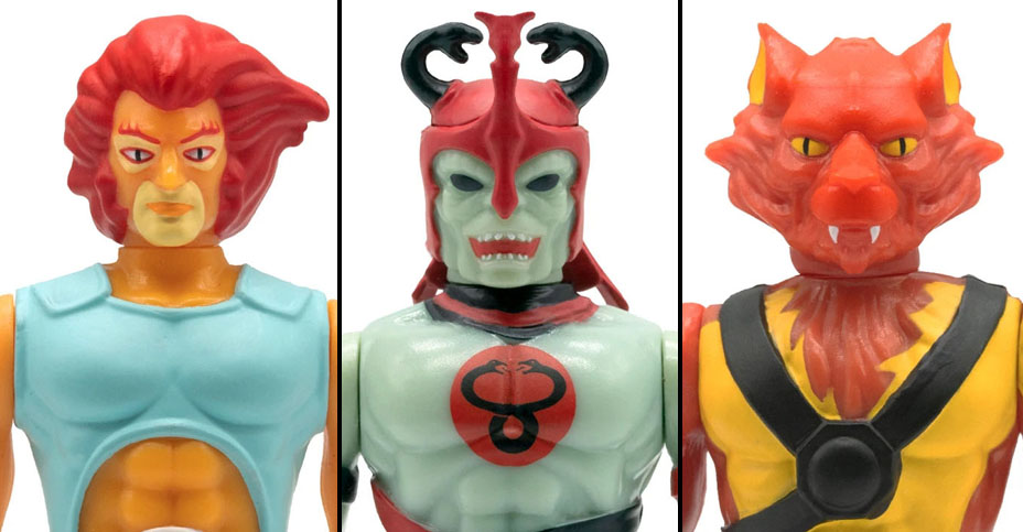 z Thundercats Toy Color ReAction Figures
