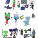 INVADER ZIM SERIES 1 ACTION FIGURE ASST