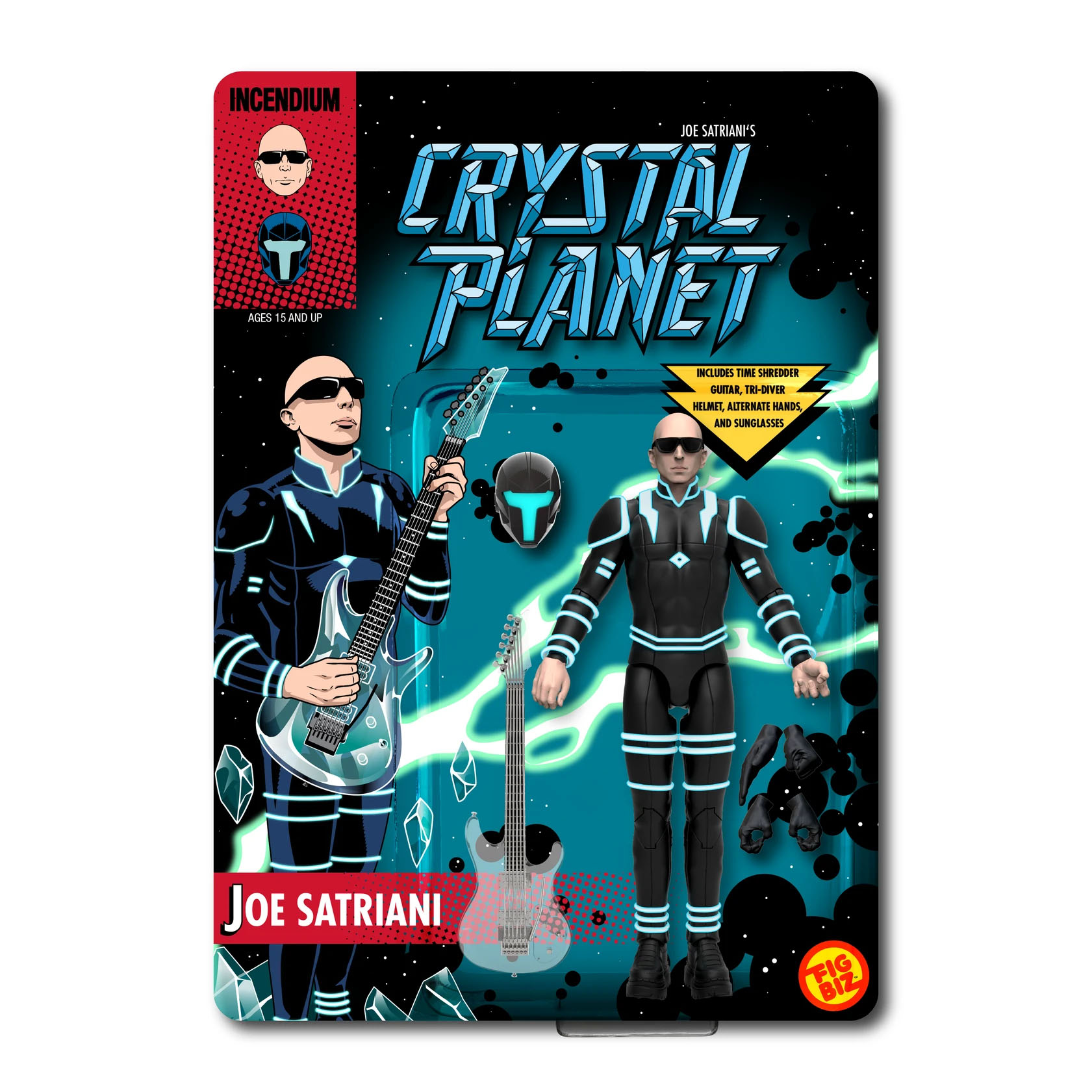 Incendium Joe Satriani Crystal Planet 001
