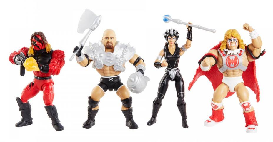 Mattel Masters of the WWE Universe Series 6
