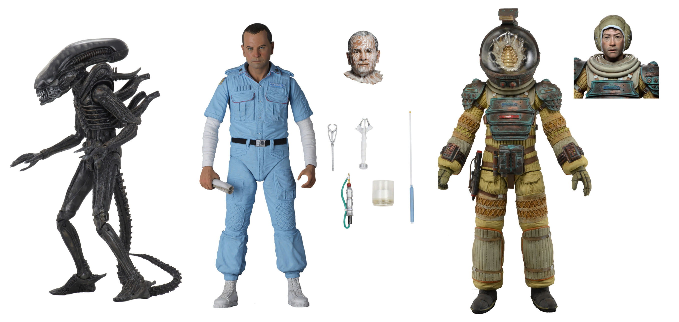 NECA Alien 40th Wave 3 Figures 001