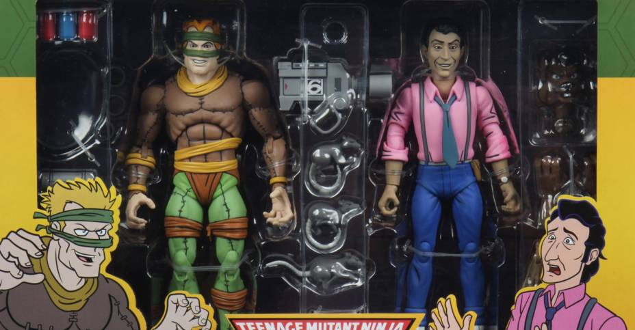 NECA TMNT Rat King and Vernon Packaging 001