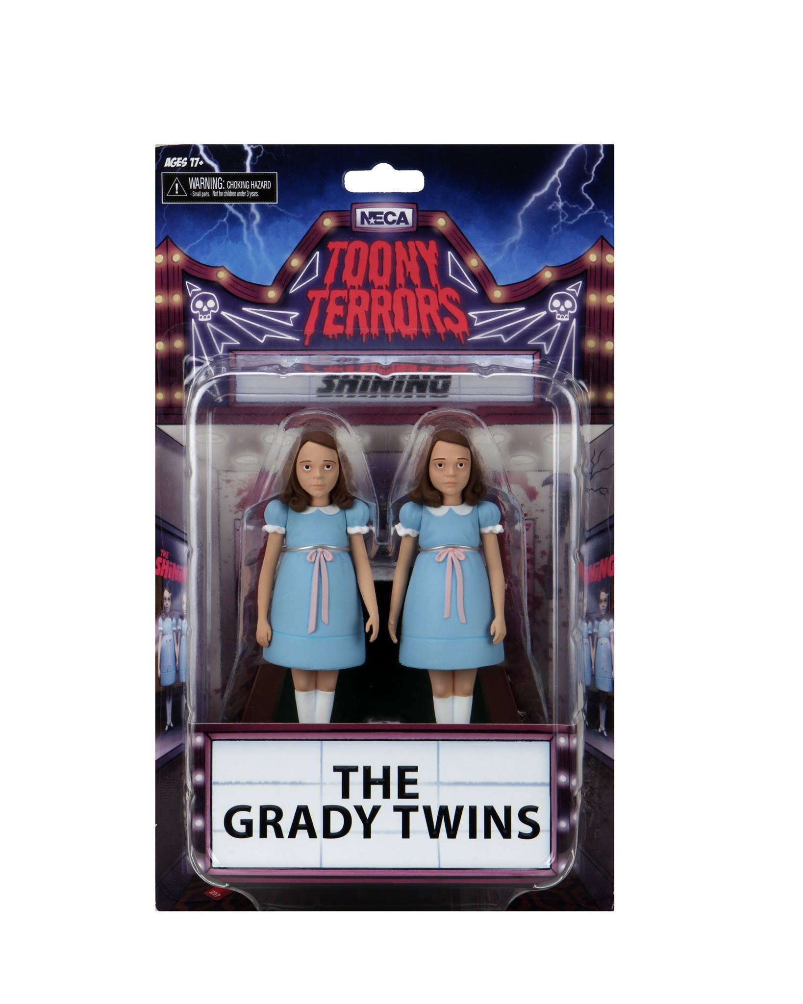 NECA Toony Terrors Grady Twins Packaging 1