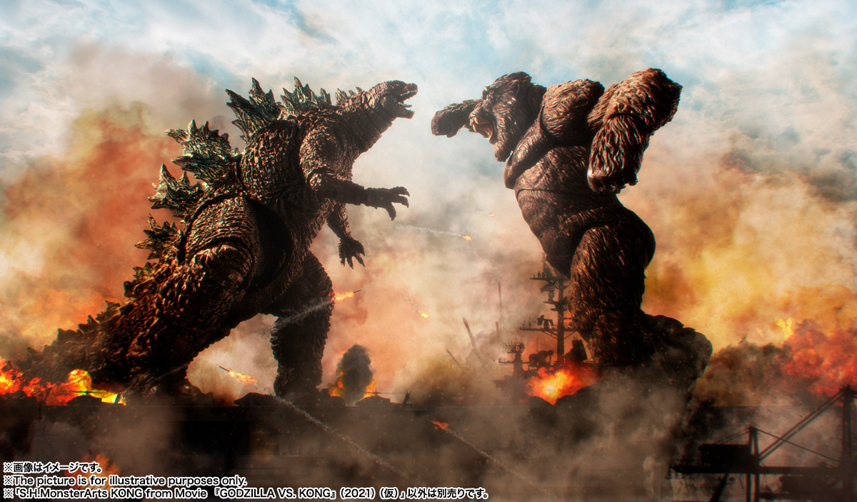 SH MonsterArts Godzilla vs Kong
