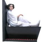 STAR WARS MILESTONES A NEW HOPE LEIA STATUE 2