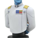 STAR WARS REBELS THRAWN BUST 1