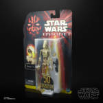 STAR WARS THE BLACK SERIES LUCASFILM 50TH ANNIVERSARY 6 INCH BATTLE DROID Figure in pck 2