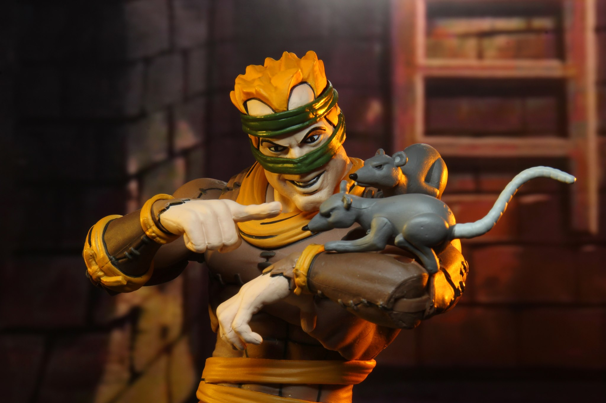 TMNT Rat King and Vernon Set NECA 002