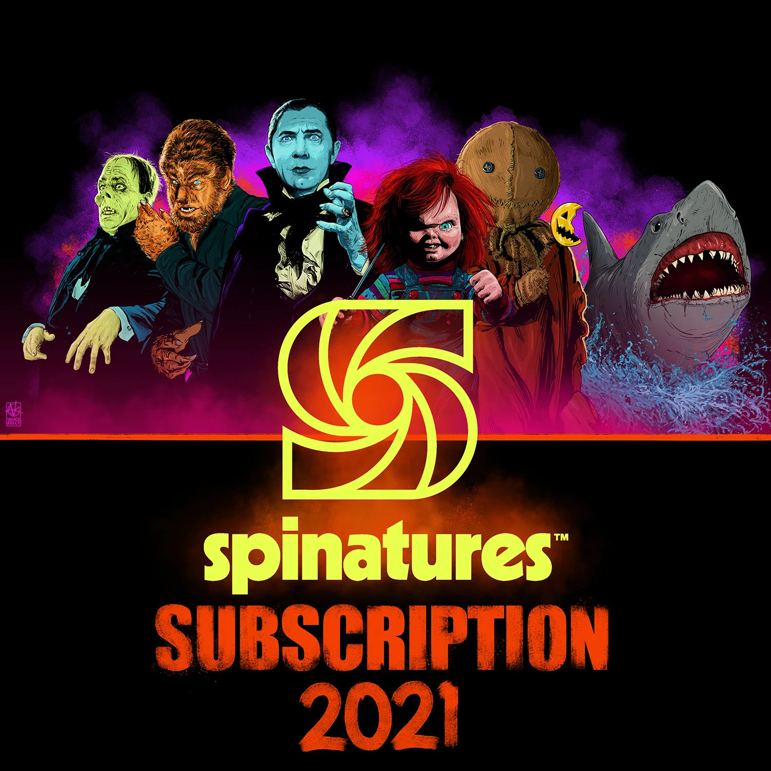 Waxwork Spinature Subscription 2021