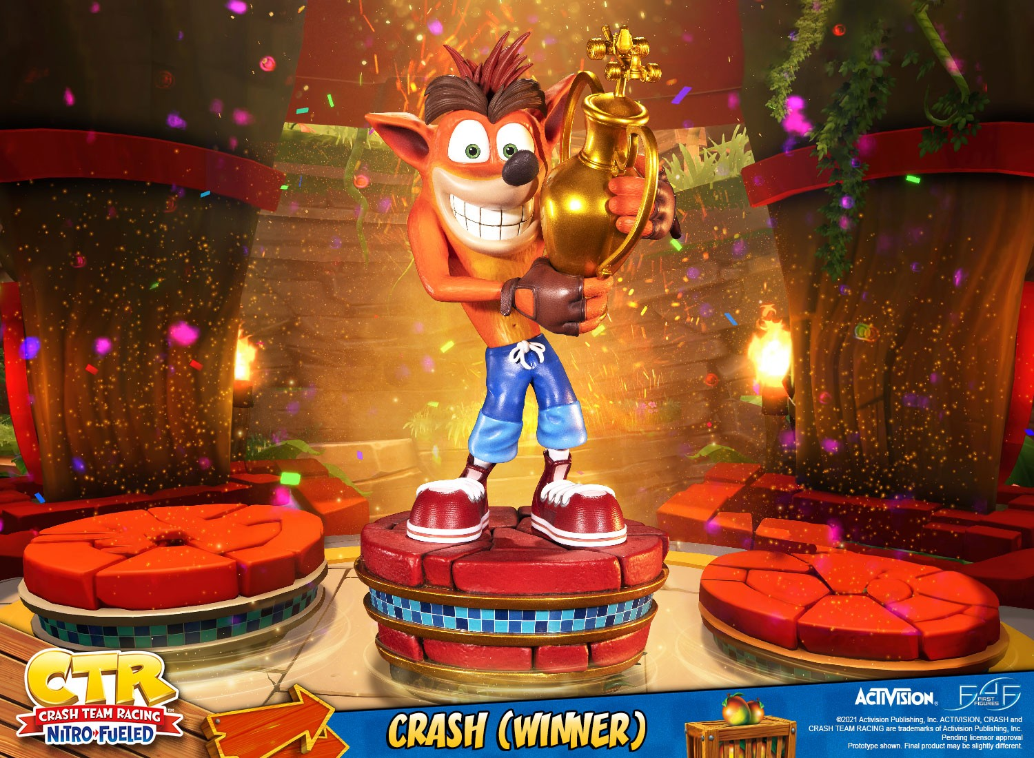 CTR Crash Bandicoot Winner 001