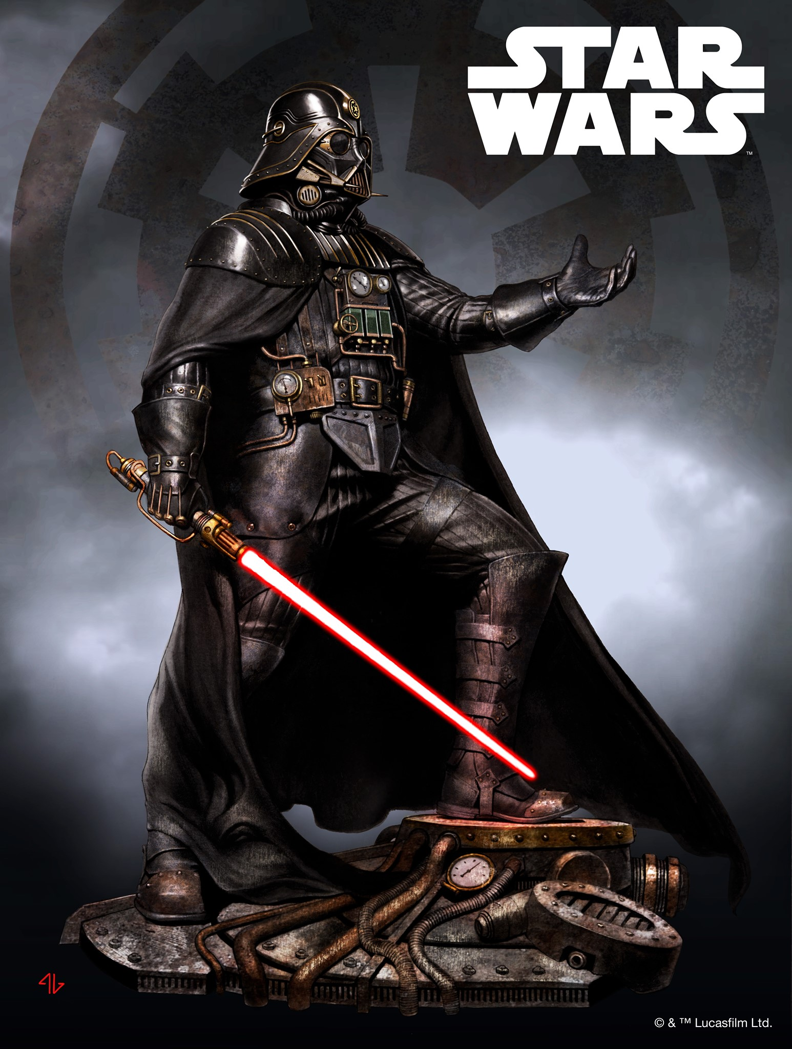 Koto Industrial Empire Darth Vader 001