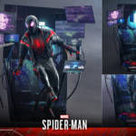Miles Morales Spider Man 2020 Suit Hot Toys 003