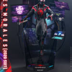 Miles Morales Spider Man 2020 Suit Hot Toys 006