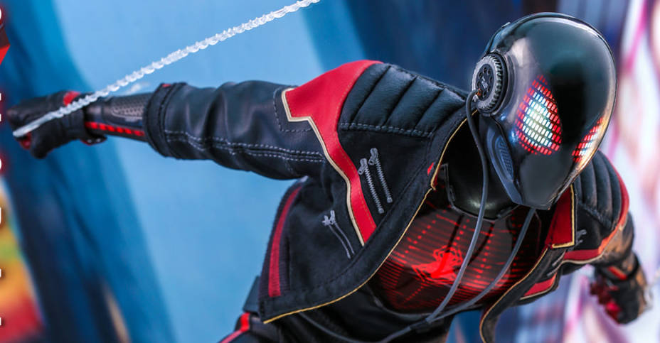 Miles Morales Spider Man 2020 Suit Hot Toys 009