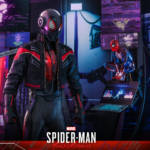 Miles Morales Spider Man 2020 Suit Hot Toys 016