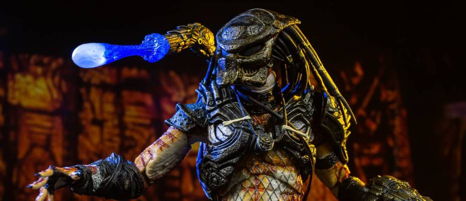 Predator 2 - Ultimate Stalker Predator Figure by NECA - Toyark Photo Shoot