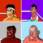 z Punch Out Characters