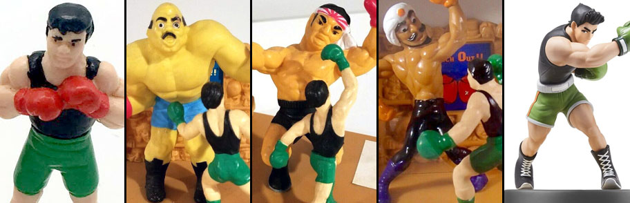 z Punch Out Previous Collectibles