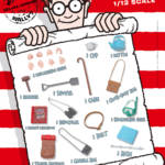Blitzway Wheres Wally 6 Inch Figure DX 022