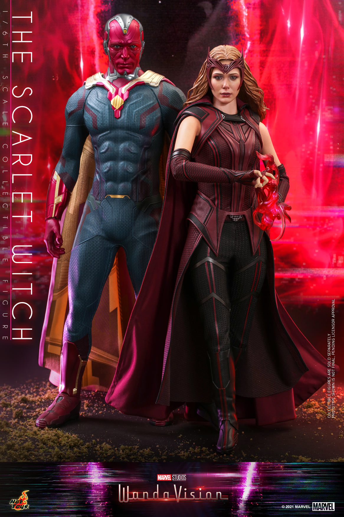 Hot Toys WandaVision Scarlet Witch 002