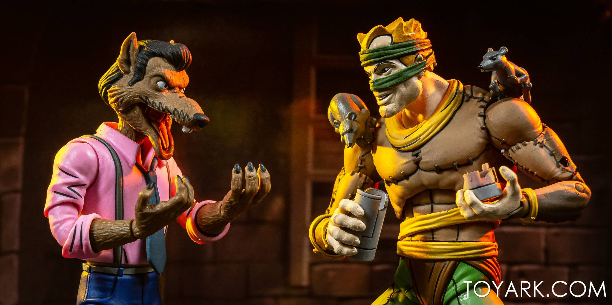 NECA Rat King and Vernon TMNT 025