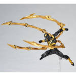 Revoltech Black and Gold Iron Spider 002